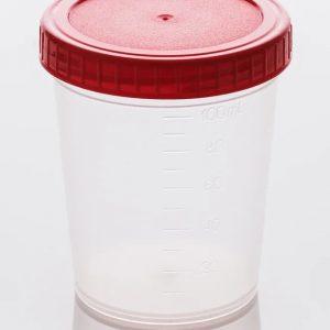 Контейнер 100мл (120мл) стерильный (в индивидуальной упаковке)