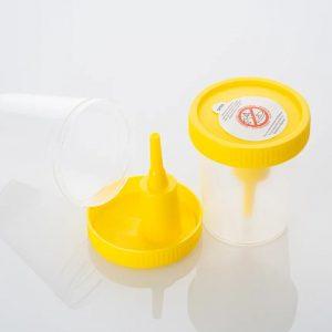 Контейнер 100мл для бесконтактного сбора биоматериала (мочи) (в индивидуальной упаковке)