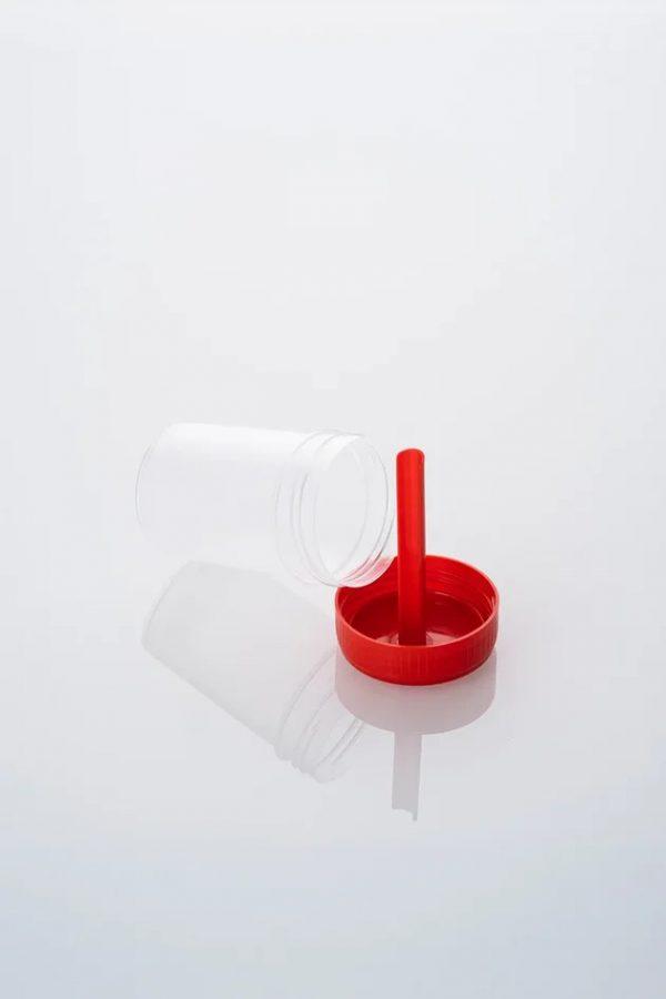 Контейнер 60 мл с ложкой нестерильный (в групповой упаковке)
