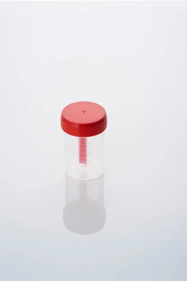 Контейнер 60мл с ложкой стерильный (в индивидуальной упаковке)