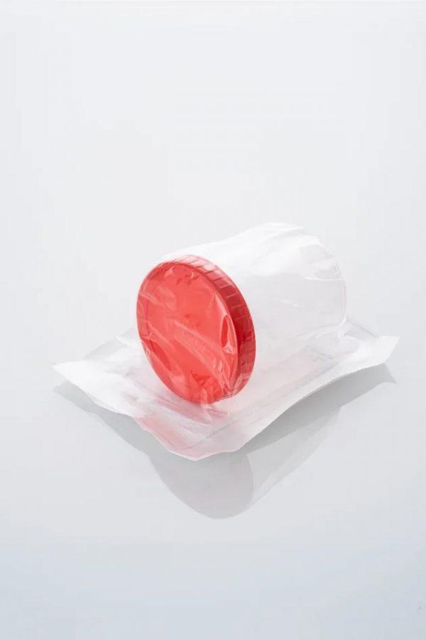 Контейнер 60мл стерильный (в индивидуальной упаковке)